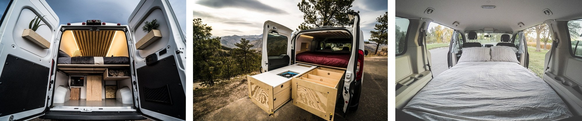 Native Camper Vans // Rent an adventure mobile from one of these camper van rental companies and choose from Sprinters, Vanagons, Ford Transits, Sportsmobiles & more!