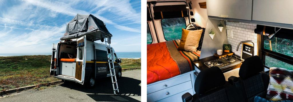 Outervan Rentals // Rent an adventure mobile from one of these camper van rental companies and choose from Sprinters, Vanagons, Transits, Sportsmobiles & more!