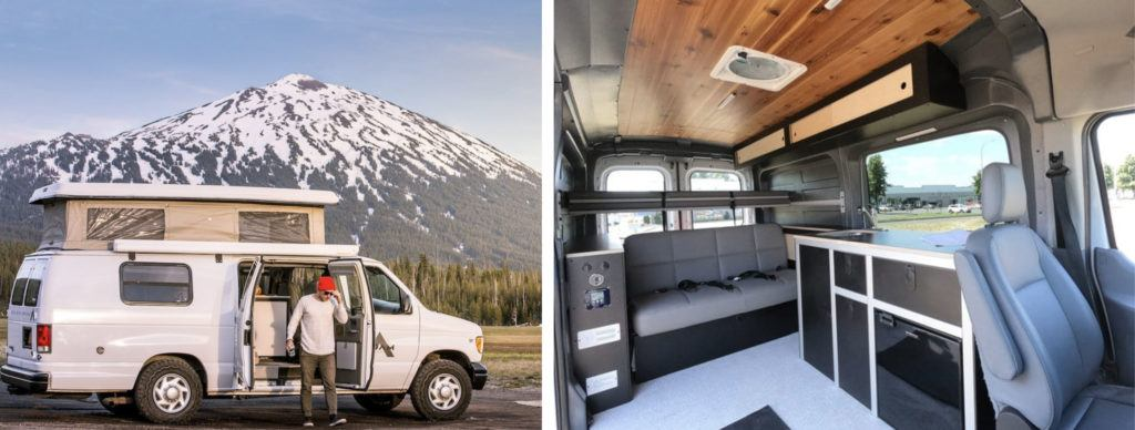 ROAMERICA // Rent an adventure mobile from one of these camper van rental companies and choose from Sprinters, Vanagons, Transits, Sportsmobiles & more!