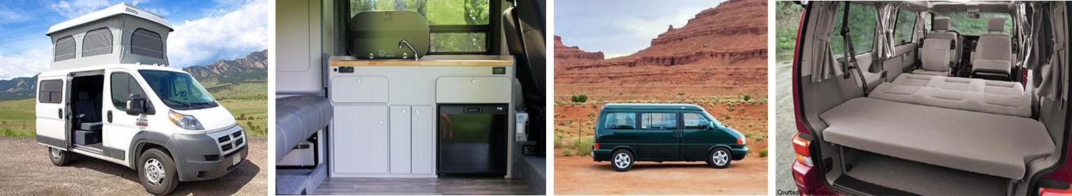 Rocky Mountain Campervan Rentals // Rent an adventure mobile from one of these camper van rental companies & choose from Sprinters, Vanagons, Ford Transits, Sportsmobiles & more!