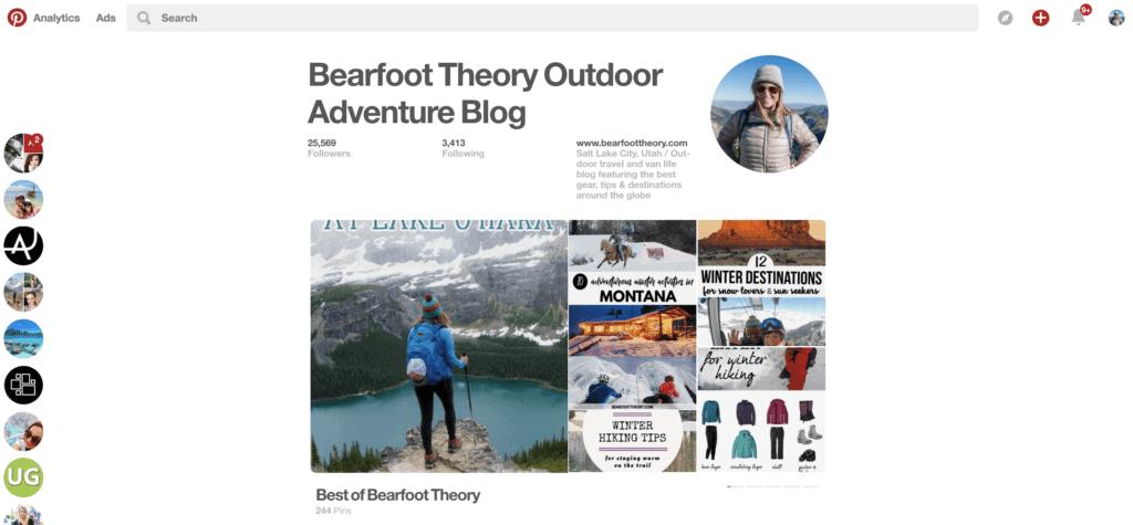 Bearfoot Theory pinterest