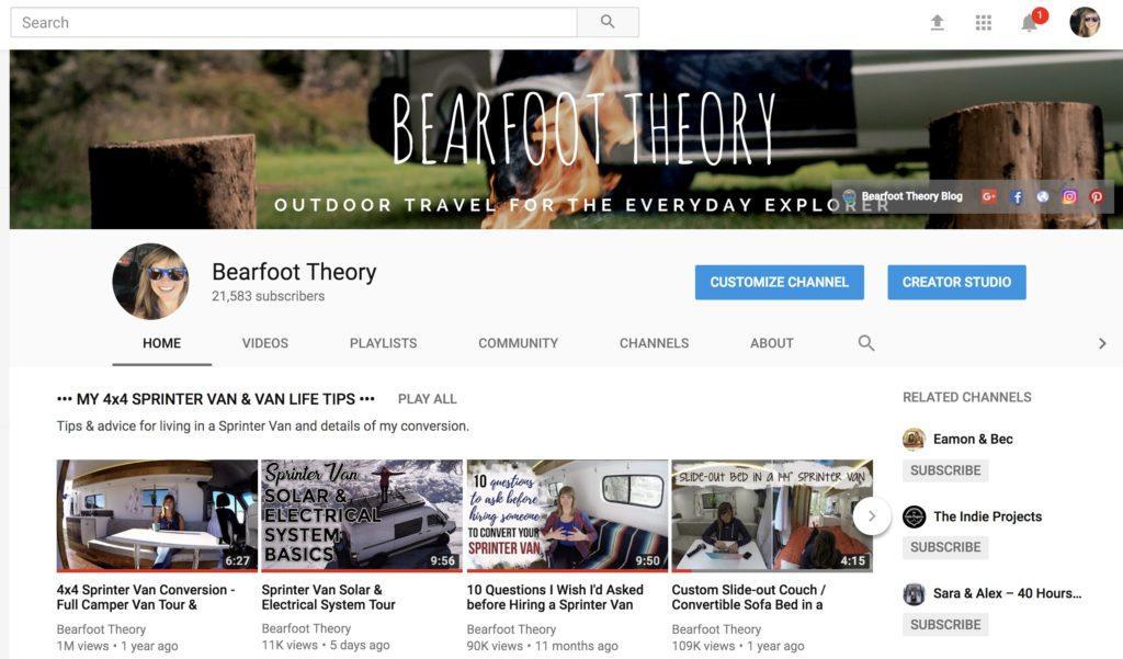 Bearfoot Theory YouTube