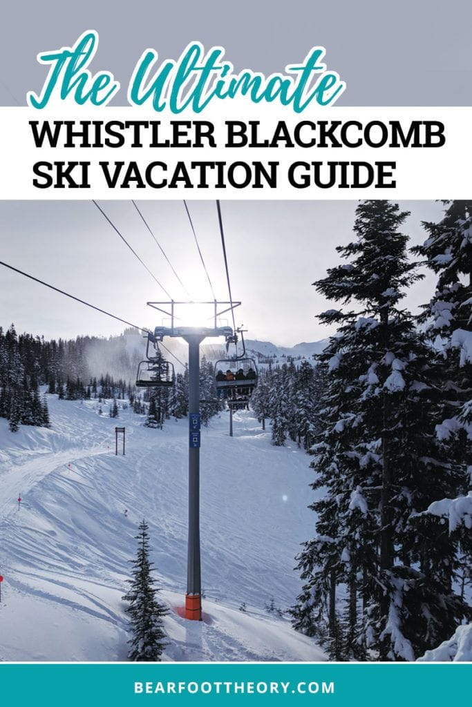 Plan the ultimate Whistler Blackcomb Ski Vacation! Learn how to get there & the best time to go to avoid crowds. Plus get the best deals on lift tickets, see a map of the mountain, and get recommendations for where to eat, stay and more.
