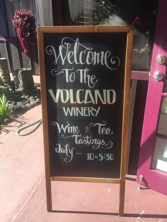 Winery in Volcano, Hawaii on the Big Island
