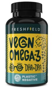 Omega 3 supplement to help lubricate joints for hiking