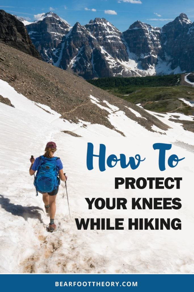 Knee pain while hiking is real. Learn how to safely protect your knees while hiking downhill or uphill. Discover the best gear for protecting your knees on the trail and how to support healthy & strong knees off the trail.