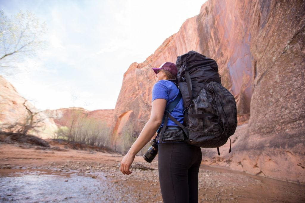 Solo backpacking // getting comfortable hiking alone is key for thru-hike training
