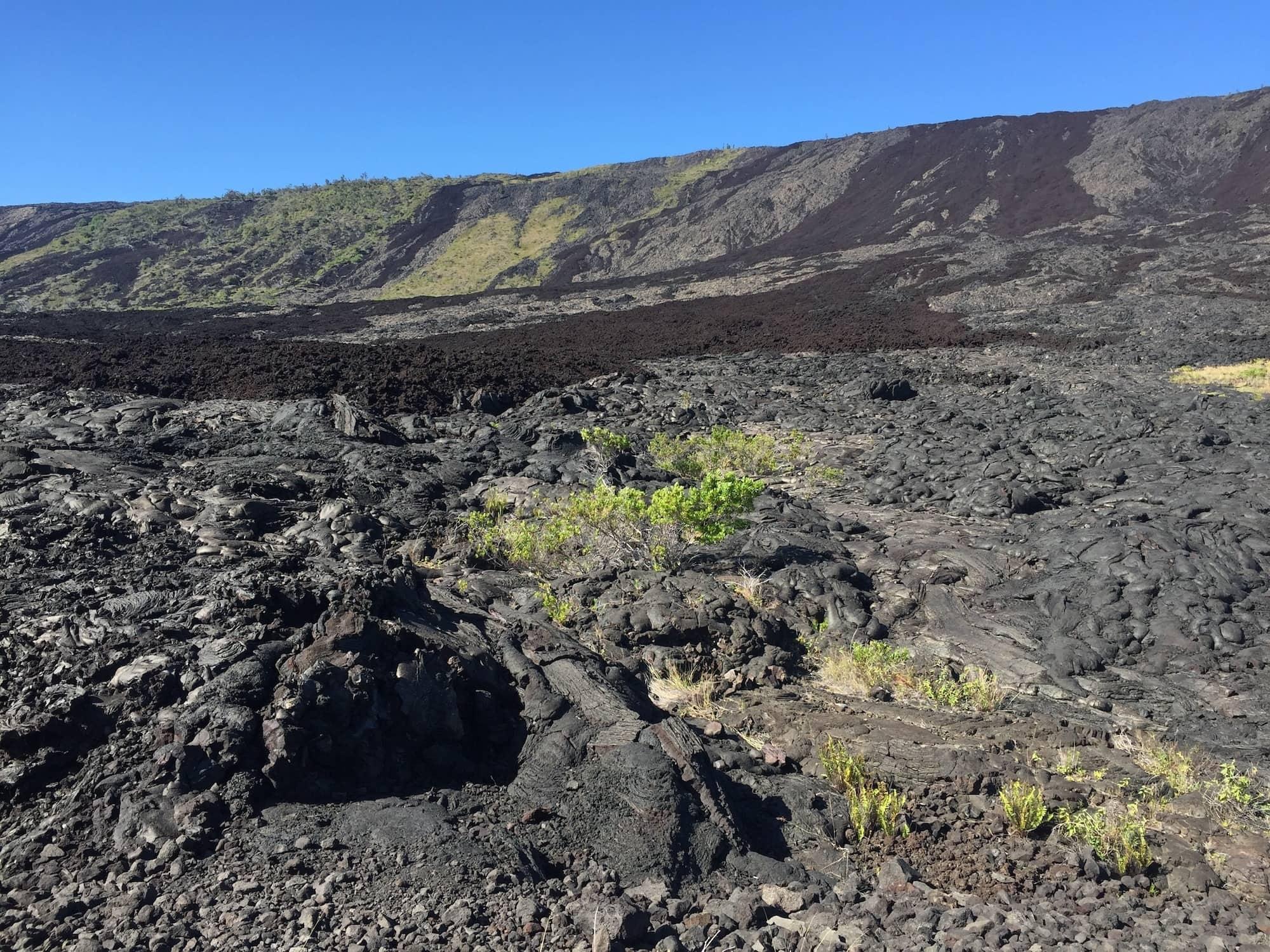 Crater Rim Drive in Volcanoes National Park