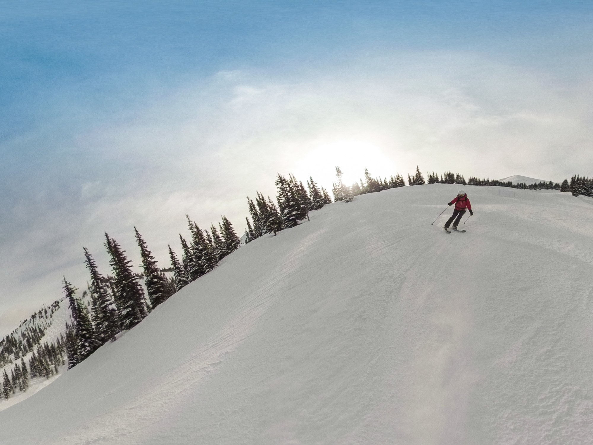 Marmot Basin // Plan the ultimate winter getaway in the Canadian Rockies. This 4-day Jasper National Park winter itinerary gives you an adventurous day-by-day plan, plus info on how to get to Jasper, the best restaurants & where to stay.