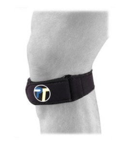 Knee strap to prevent hiking knee pain