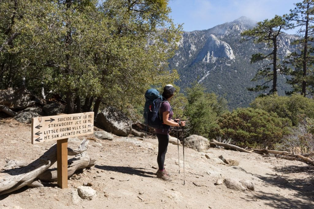 San Jacinto Peak Loop / Learn how to plan a backpacking trip! From how to pick a trail to what gear to pack, this guide covers all the important planning steps.
