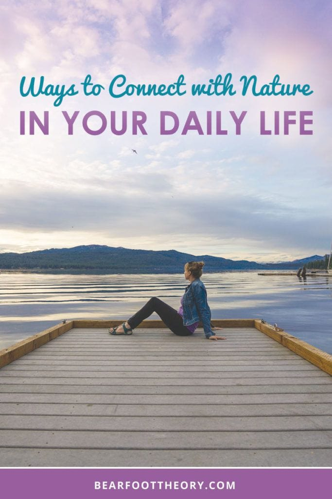 Here are the top 5 ways to connect with nature in your everyday life - whether you live in a city or work long hours we've got tips to help you get some fresh air.