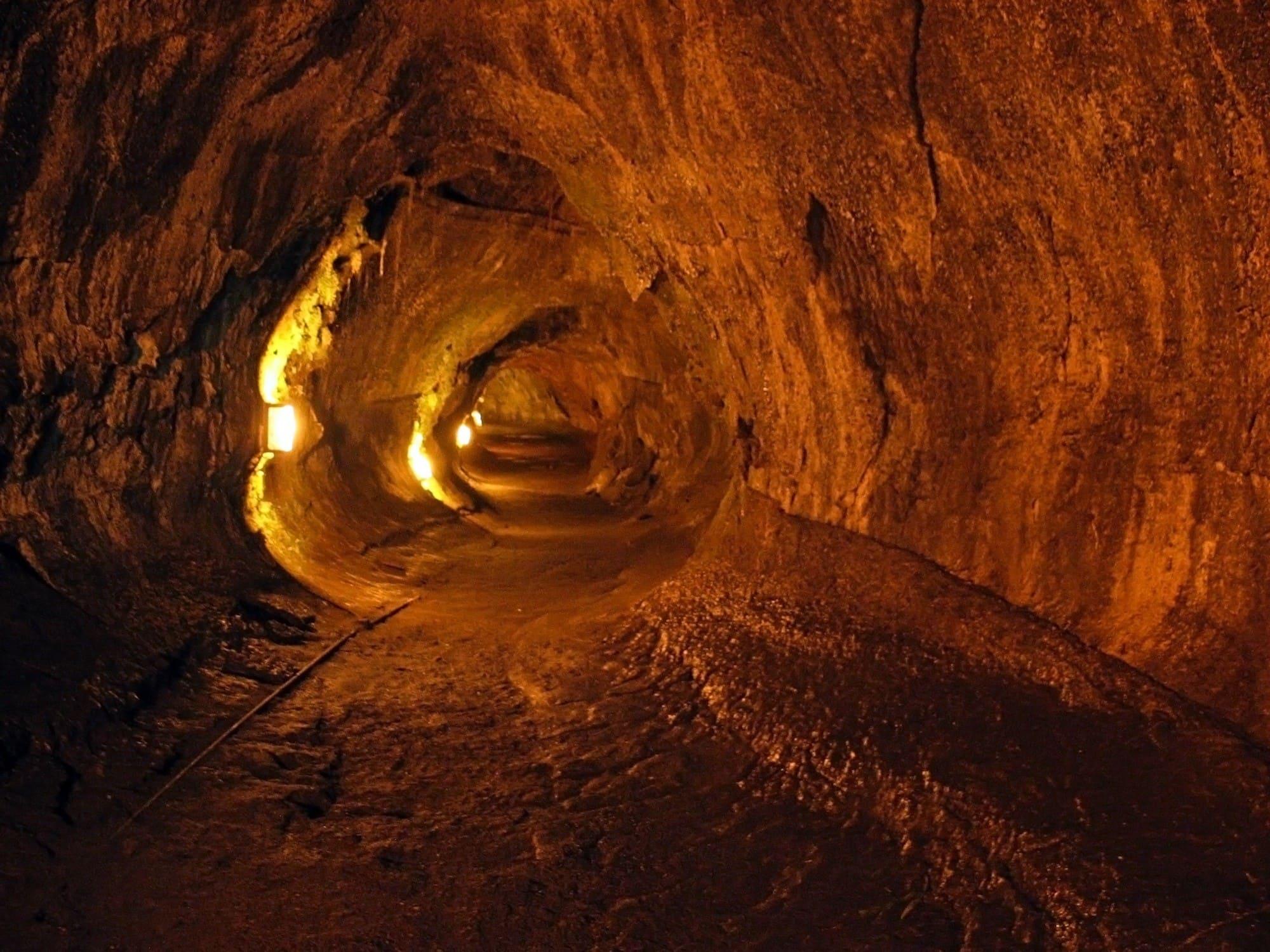 Thurston Lava Tube in Volcanoes National Park