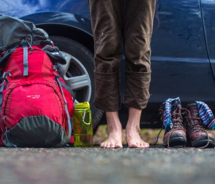 Keep your feet happy with these basic foot care tips for hiking. Learn how to prevent blisters while hiking & how to treat blisters on the trail.
