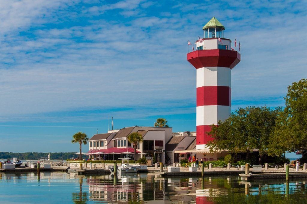 Hilton Head Lighthouse // Plan an active vacation with the best outdoor activities on Hilton Head Island including hiking, biking, kayaking, and more.
