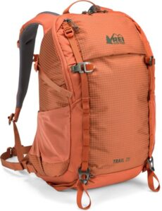 REI 25L Trail Pack // Headed out on a hike? Make sure you pack these top day hiking essentials to ensure you have fun and stay safe out on the trail.