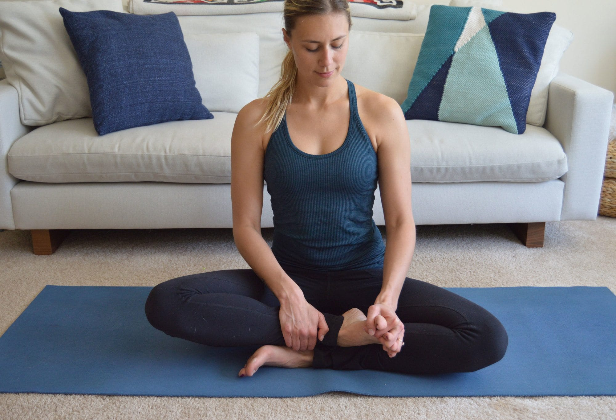Do these yoga poses for hikers to keep your body safe, injury and pain-free while hiking or backpacking. Doing simple yoga stretches and yoga poses can relieve tension and soreness from your feet, knees and low back and shoulders while you're on the trail.