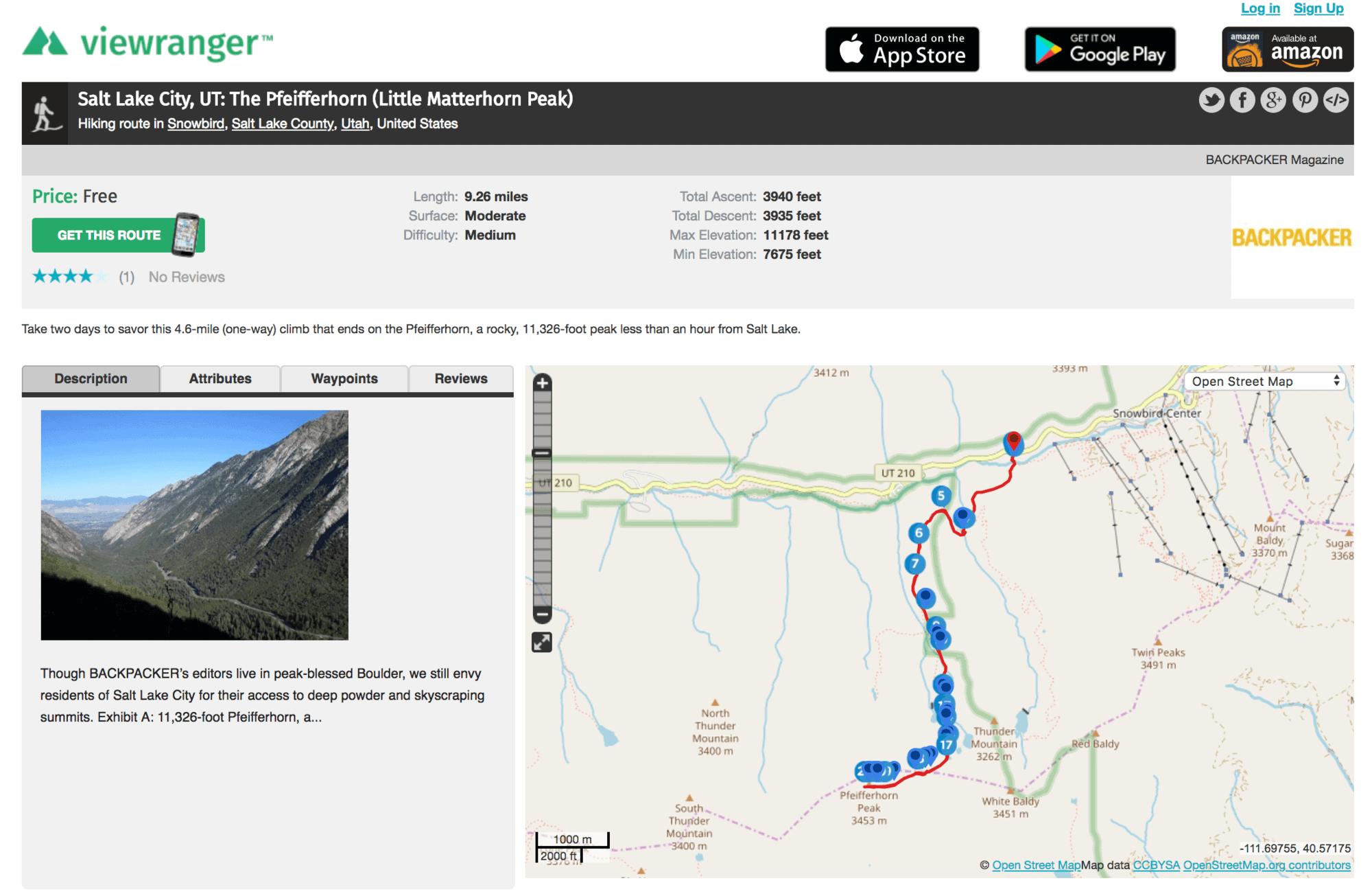 ViewRanger // Discover the best trail finder apps & websites