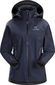 Arc'teryx Beta AR Rain Jacket // One of the best rain jackets for women for hiking and other outdoor pursuits