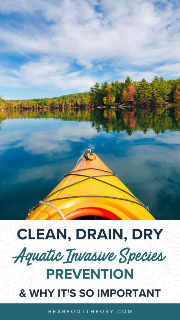 Here's how to help prevent the spread of aquatic invasive species by following Clean Drain Dry whether you're rafting, kayaking, or boating.