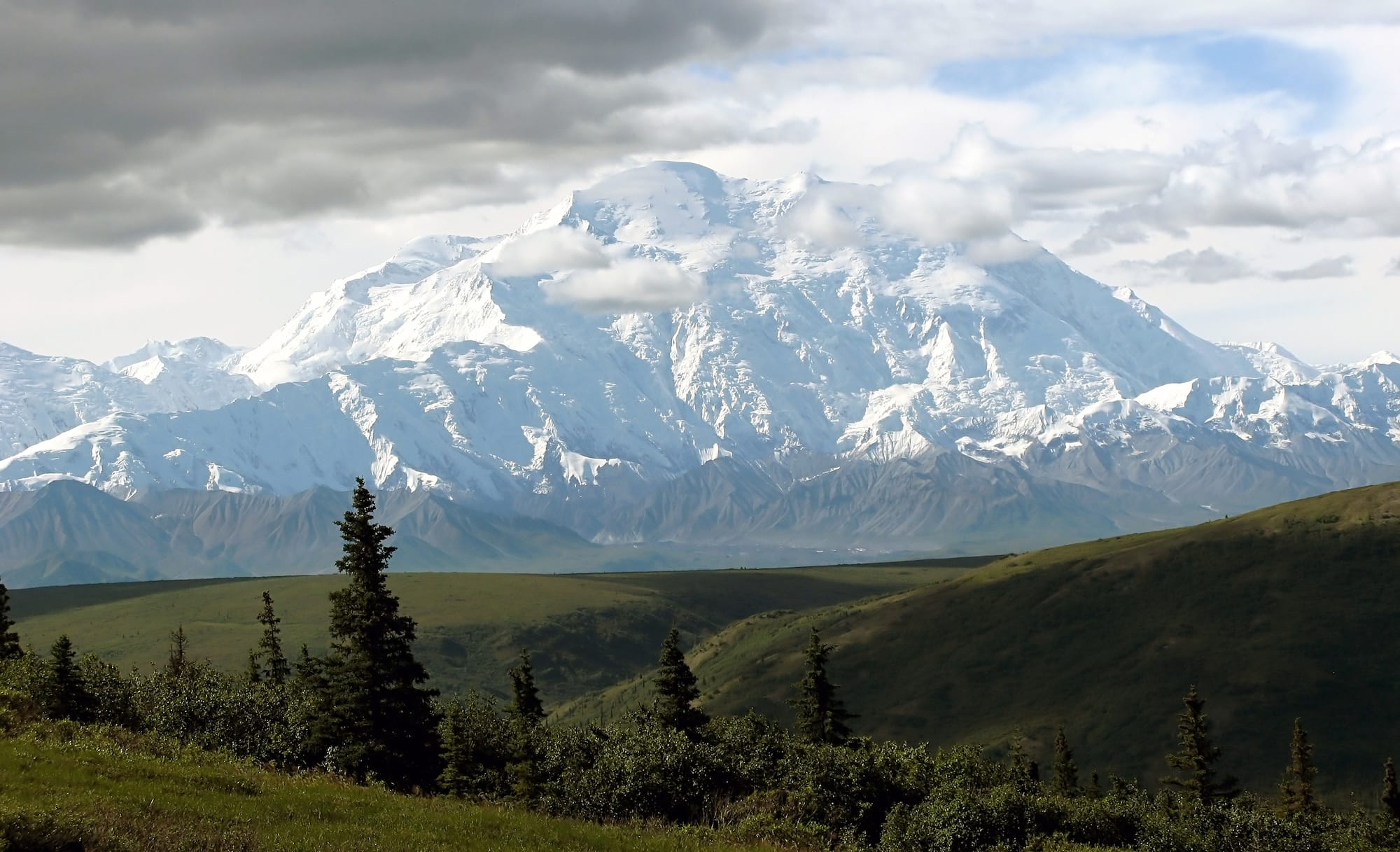 Denali National Park on a clear day