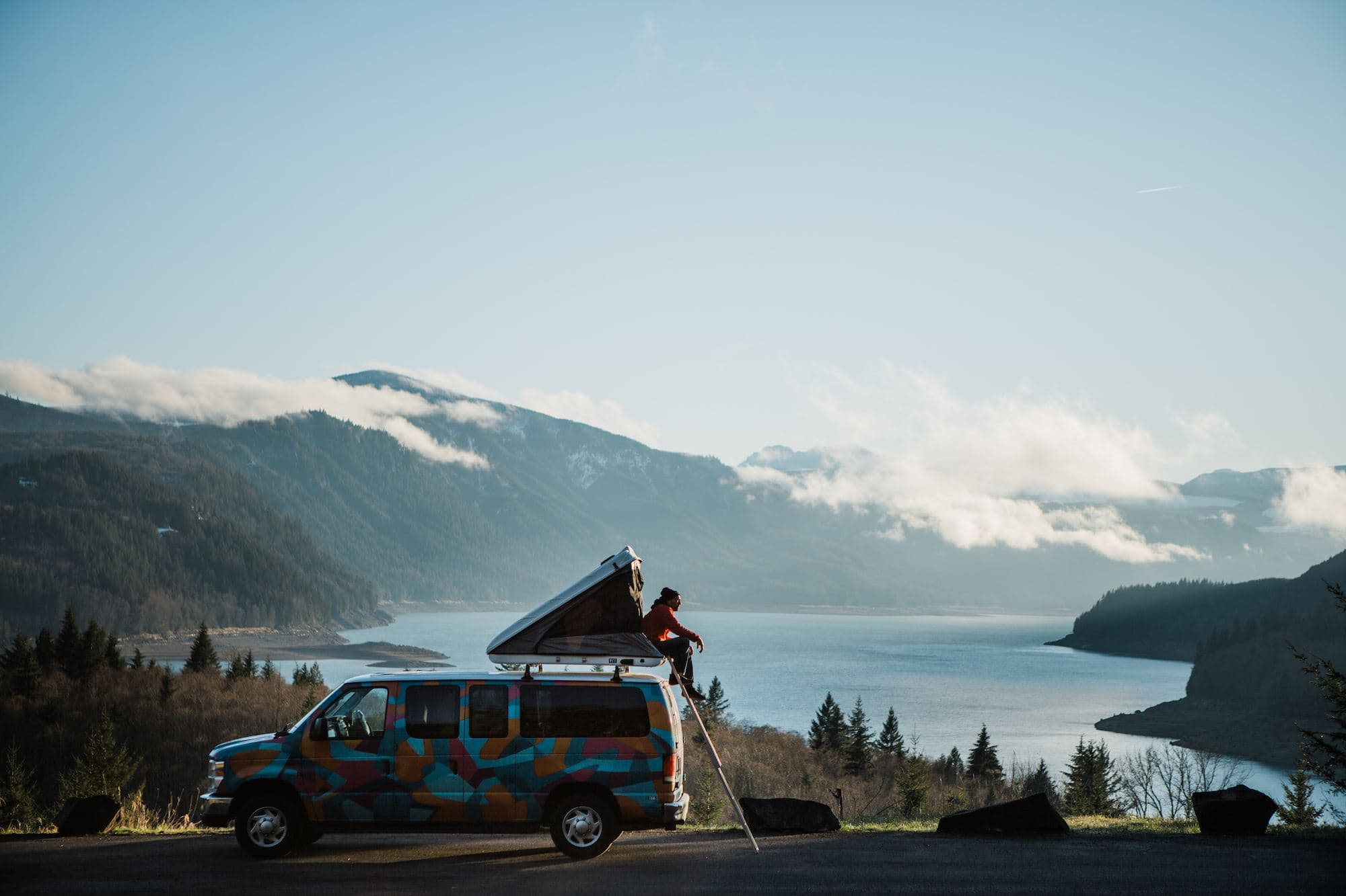 Try #vanlife out with our Escape Campervans Giveaway. Enter to win a 5 night campervan rental complete with everything you need for an epic adventure.