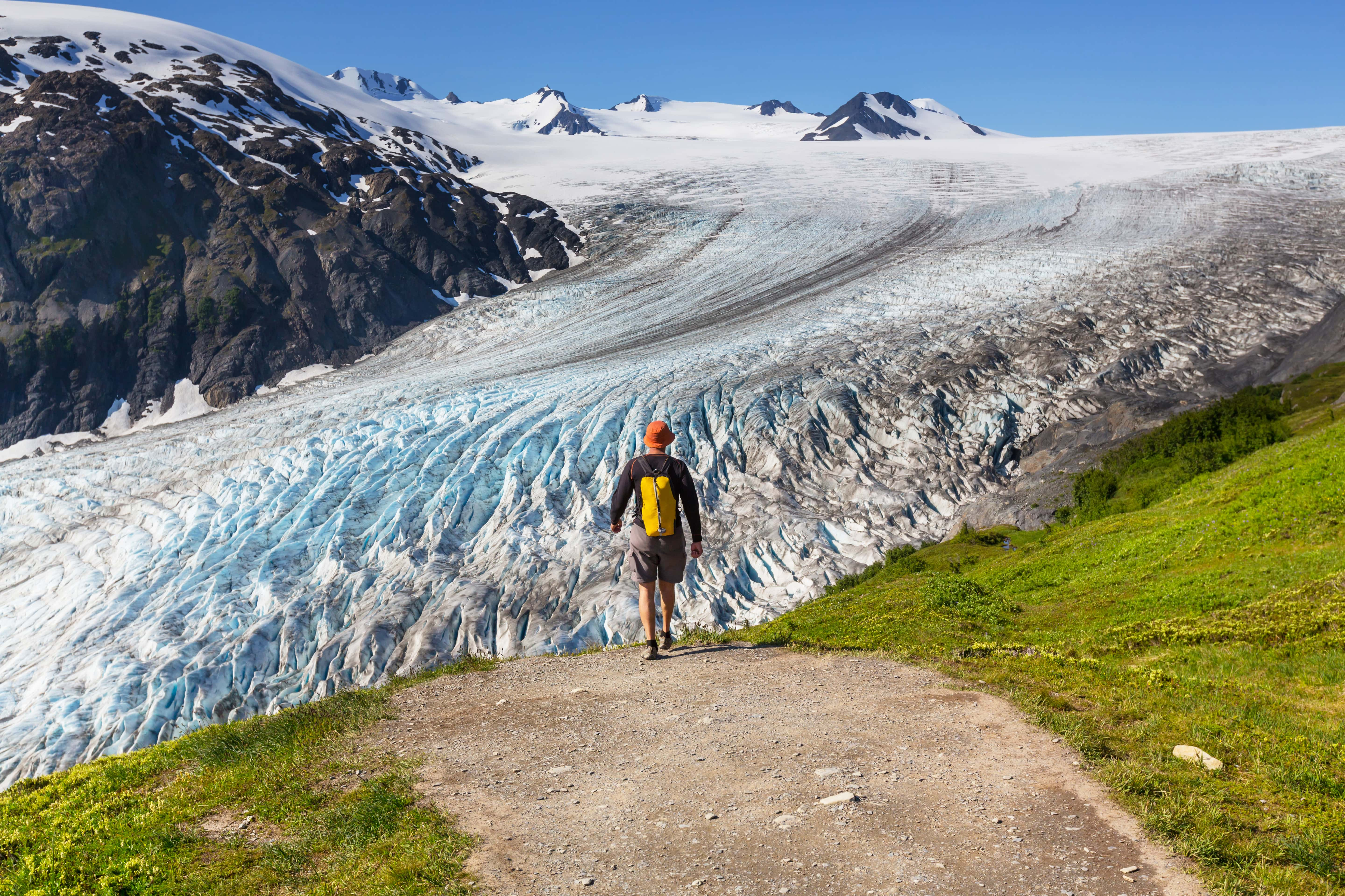 Exit Glacier in Alaska // This Alaska road trip itinerary will take you through the best of the state including Kenai Fjords & Denali National Park.