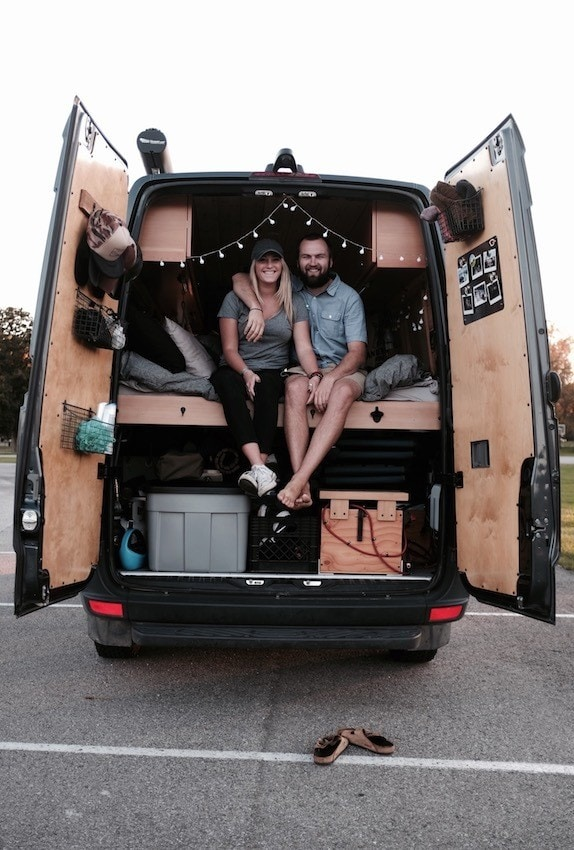 Meet Katie and Evan of So We Bought A Van - a couple that lives & travels in a Sprinter Van. Get their tips & advice for getting on the road.