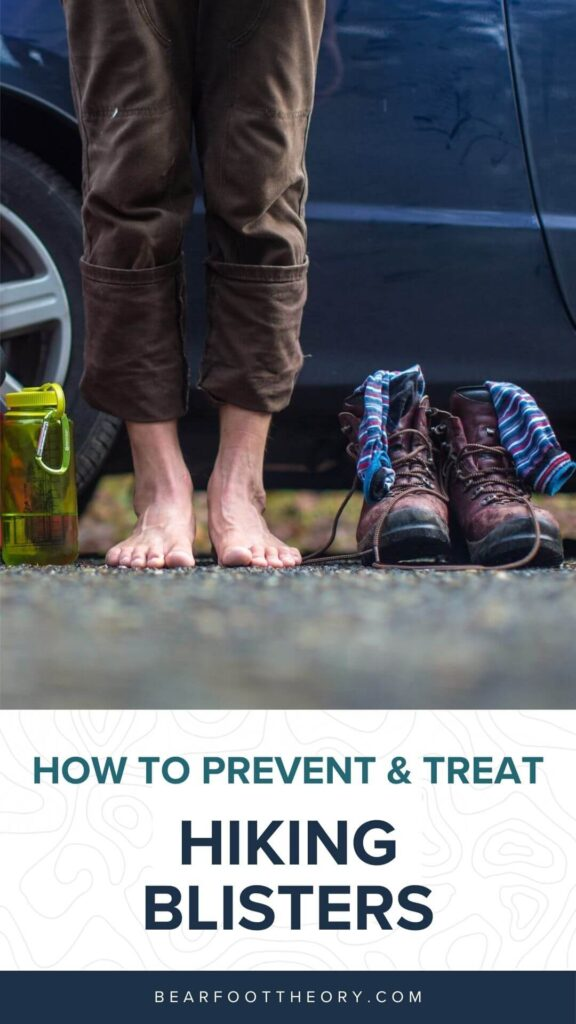 Learn how to prevent hiking blisters & how to treat blisters on the trail and keep your feet happy with these foot care tips for hiking.