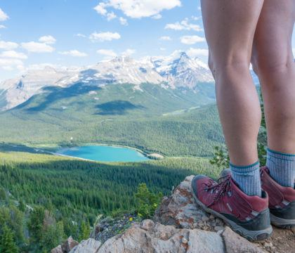 Looking for the best hiking boots for your feet? In this blog post, we compare different styles of hiking shoes and what to consider before buying, including trail conditions, distance & more. We also include a list of the best women's hiking boots based on what we are currently wearing on the trail.