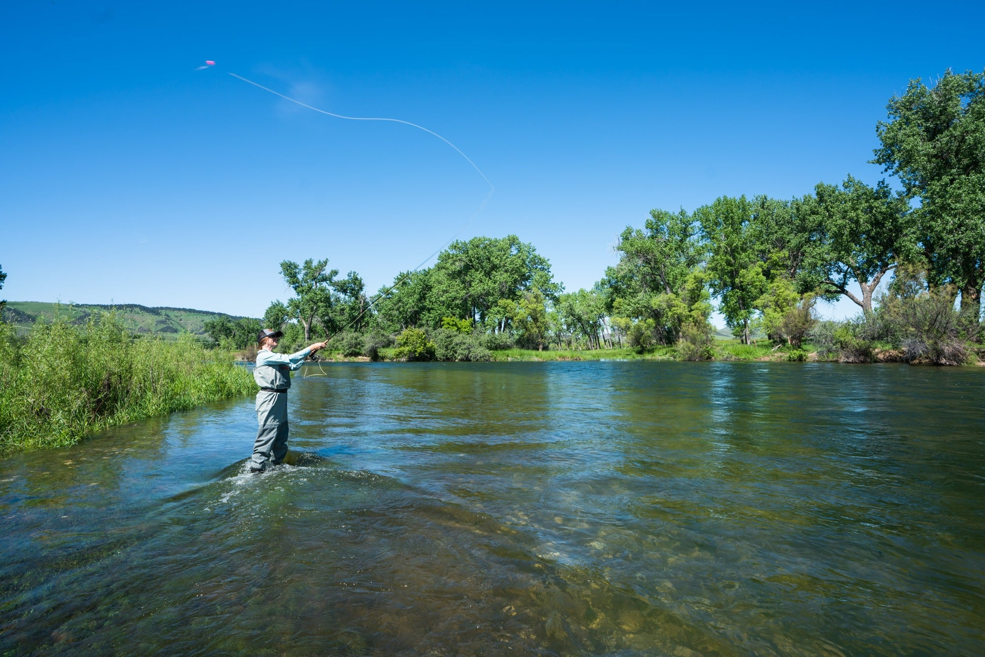 Bighorn River Fly Fishing // Explore Southeast Montana with this ultimate 7-day itinerary. Hike through the Badlands, fly fish outside of Billings, Montana, and more!
