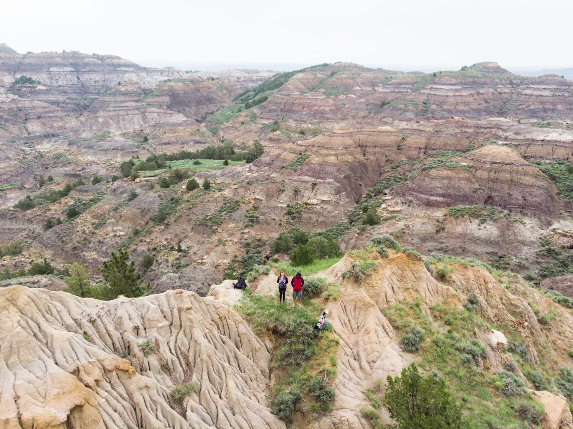 Makoshika State Park // Explore Southeast Montana with this ultimate 7-day itinerary. Hike through the Badlands, fly fish outside of Billings, Montana, and more!