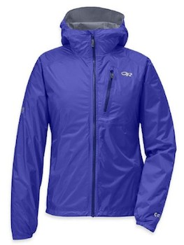 Outdoor Research Helium Rain Jacket for Women is an excellent ultralight rain jacket for hiking