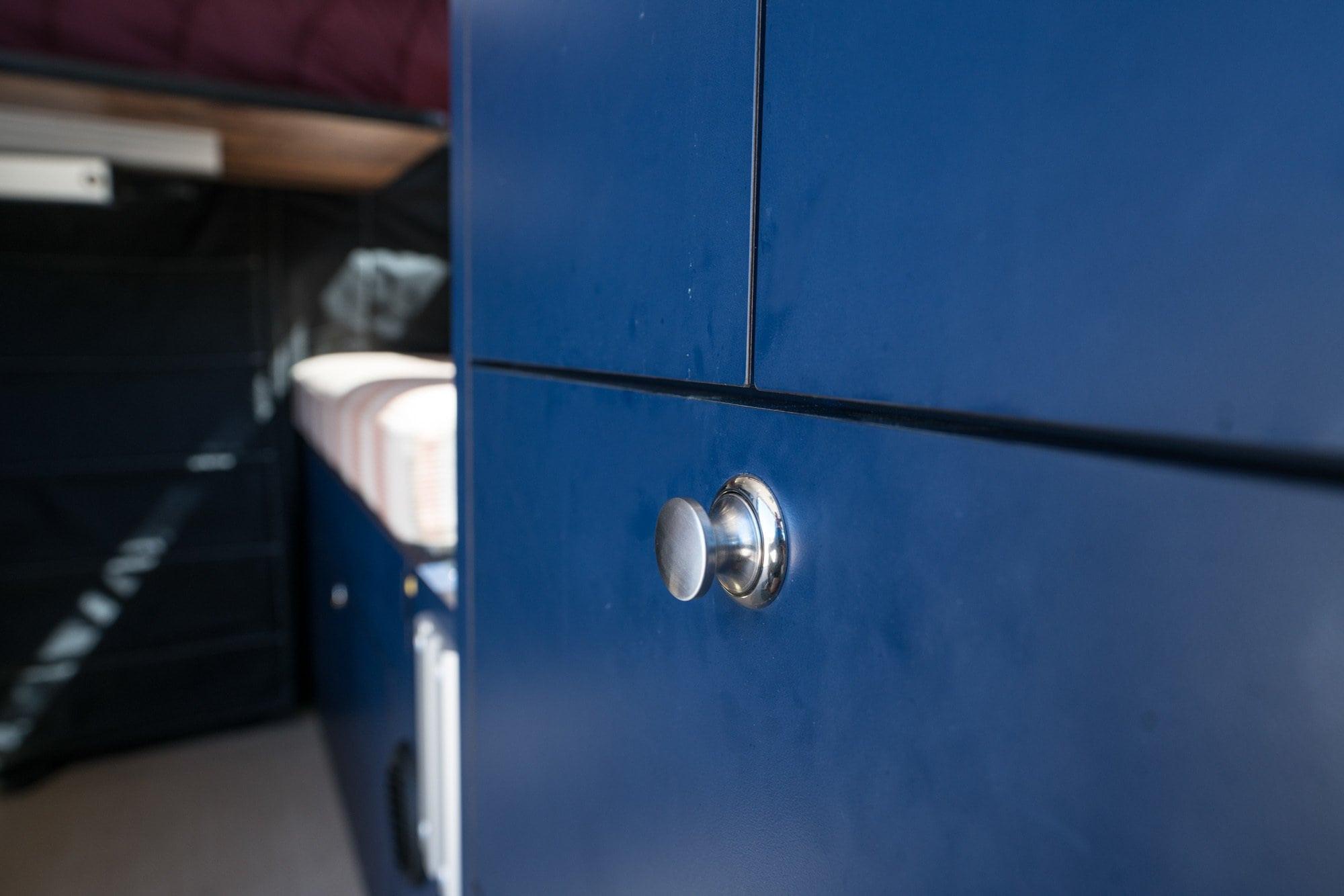 Sprinter Van push lock buttons