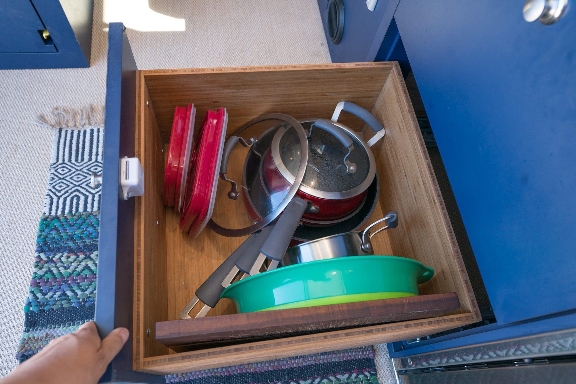 Sprinter Van galley storage