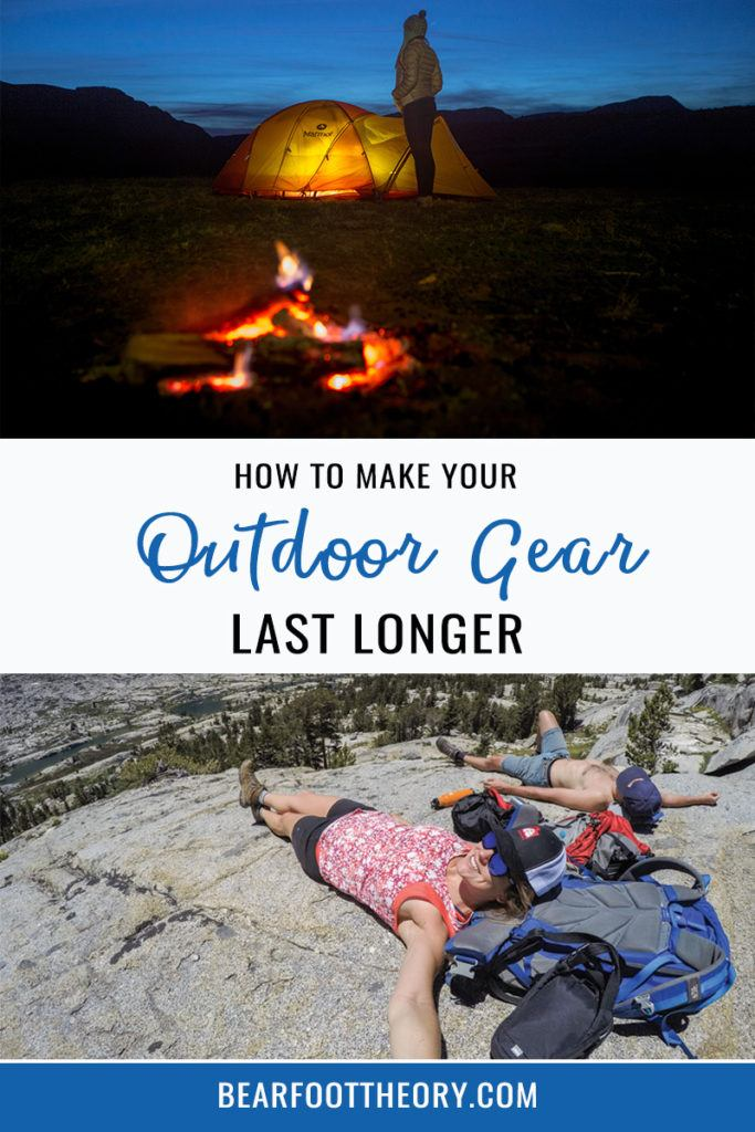 Check out our tips, tricks, and favorite products for outdoor gear maintenance, and learn how to repair your gear, rather than replace it.