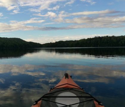 Plan an overnight Green River Reservoir State Park kayak trip to explore all 19 miles of undeveloped shoreline this Vermont state park has to offer.