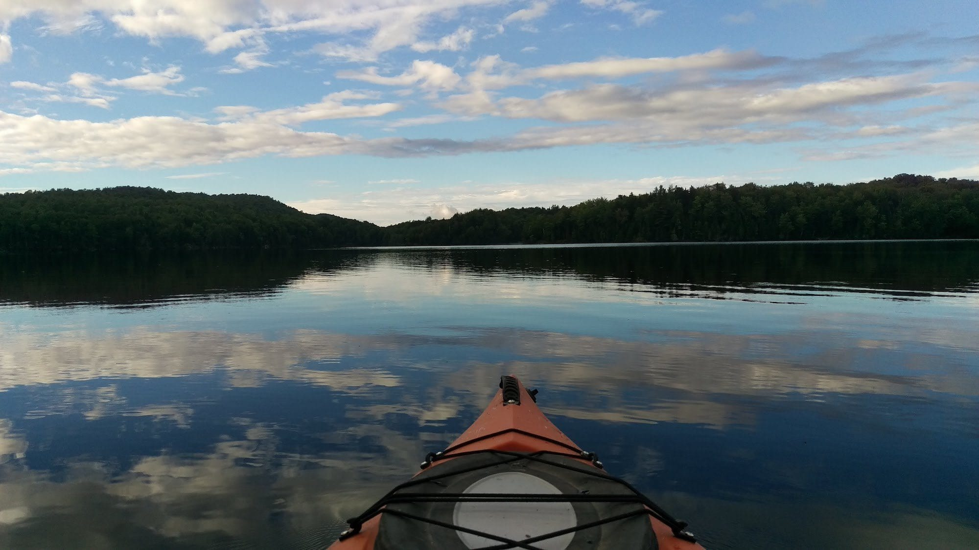 Overnight Kayaking Trip in Vermont's Green River Reservoir State Park