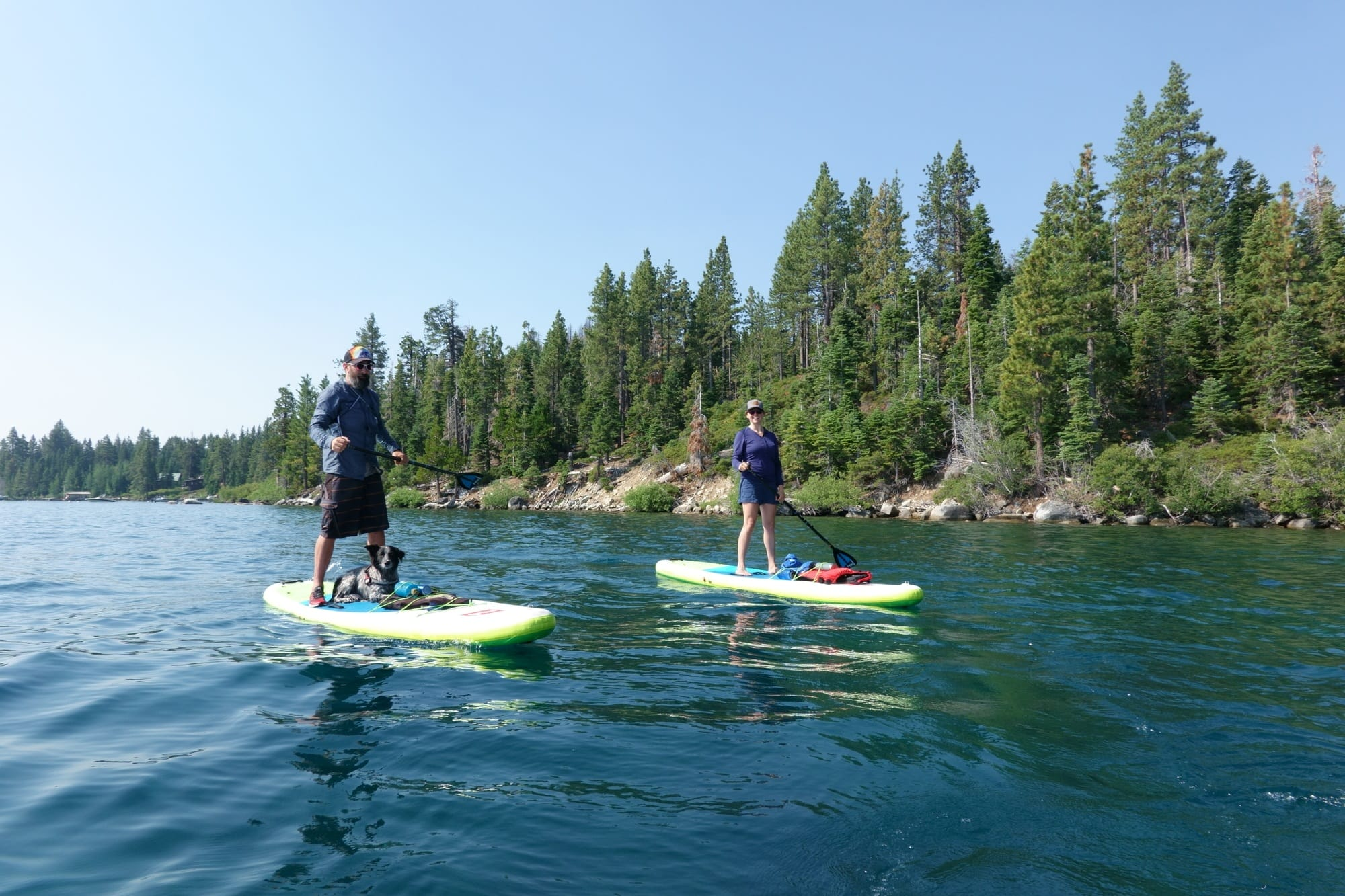 Stand-up Paddle Boarding to Emerald Bay // Planning an adventure-packed vacation to Lake Tahoe? Here are 12 of the best things to do around Lake Tahoe for the outdoor enthusiast.