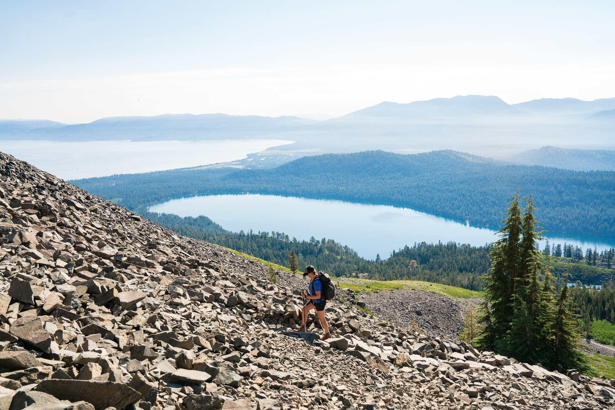 Hike Mount Tallac // Planning an adventure-packed vacation to Lake Tahoe? Here are 12 of the best things to do around Lake Tahoe for the outdoor enthusiast.