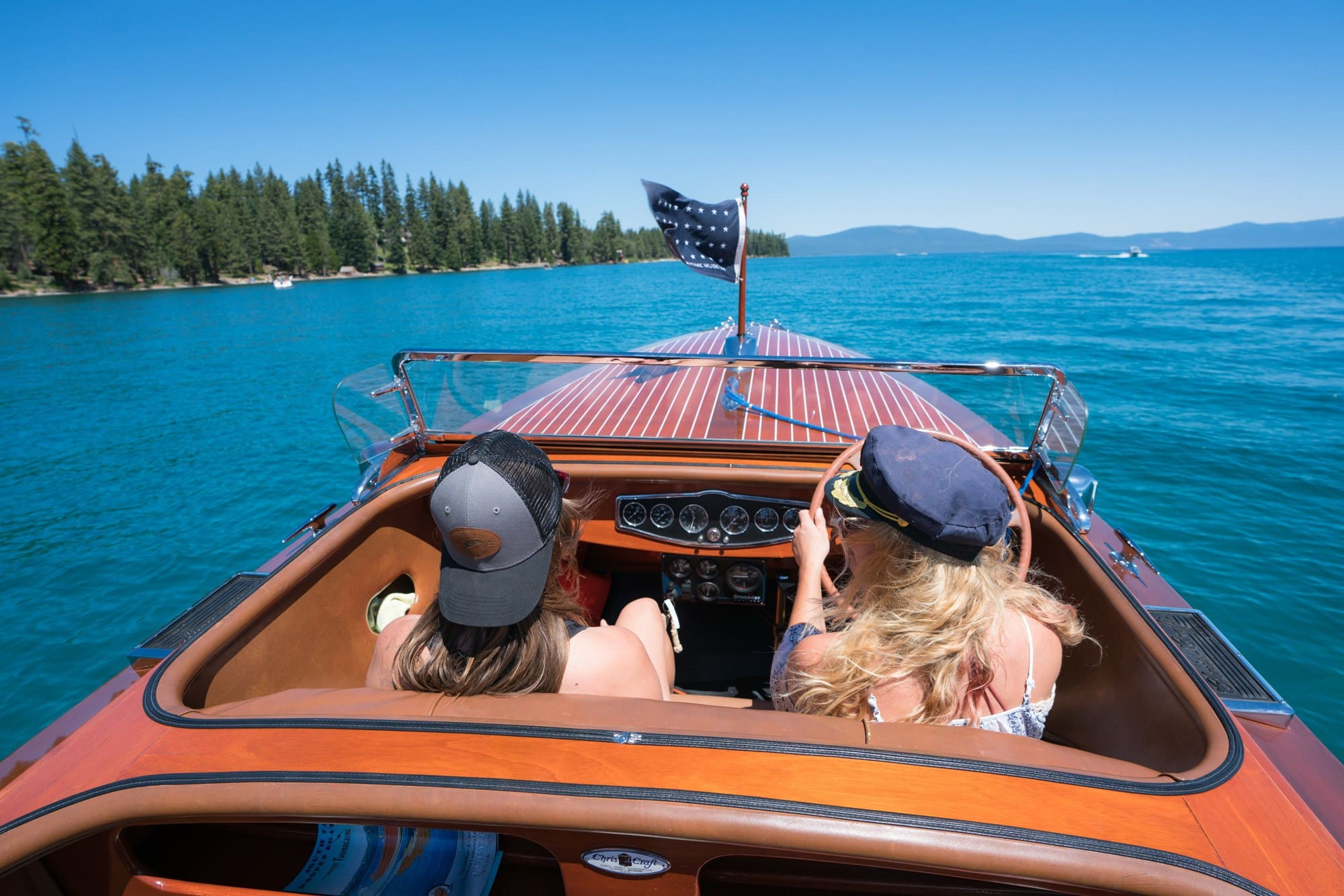 Cruise Lake Tahoe in a Woody // Planning an adventure-packed vacation to Lake Tahoe? Here are 12 of the best things to do around Lake Tahoe for the outdoor enthusiast.