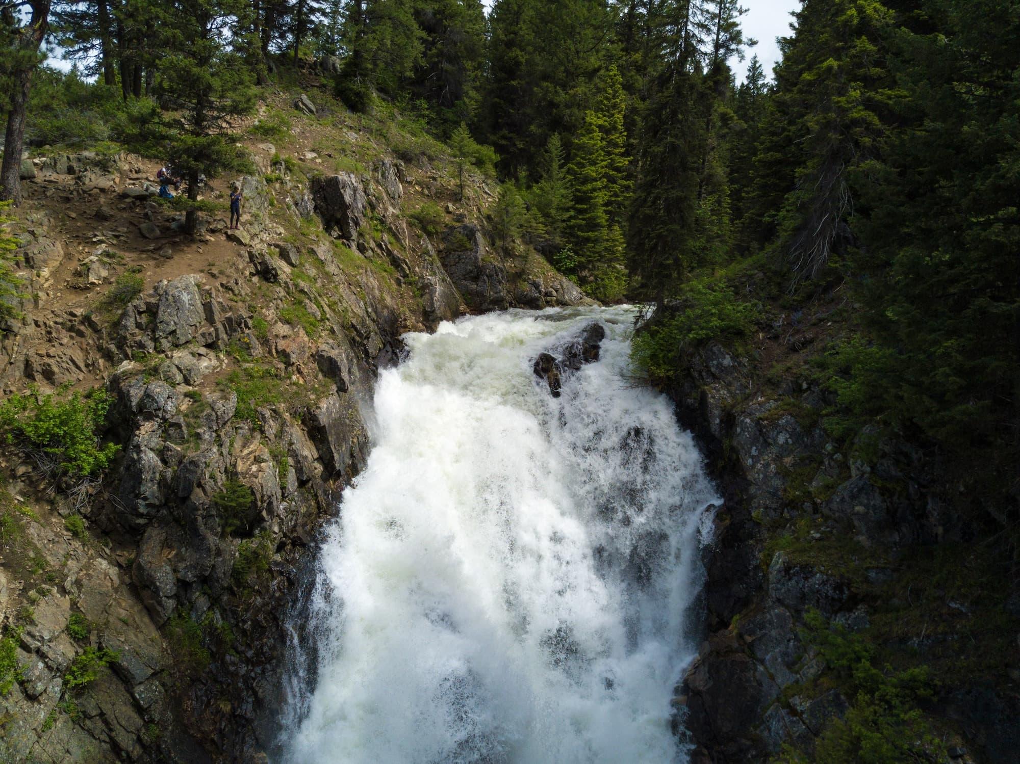 Goose Creek Falls Hike in McCall Idaho