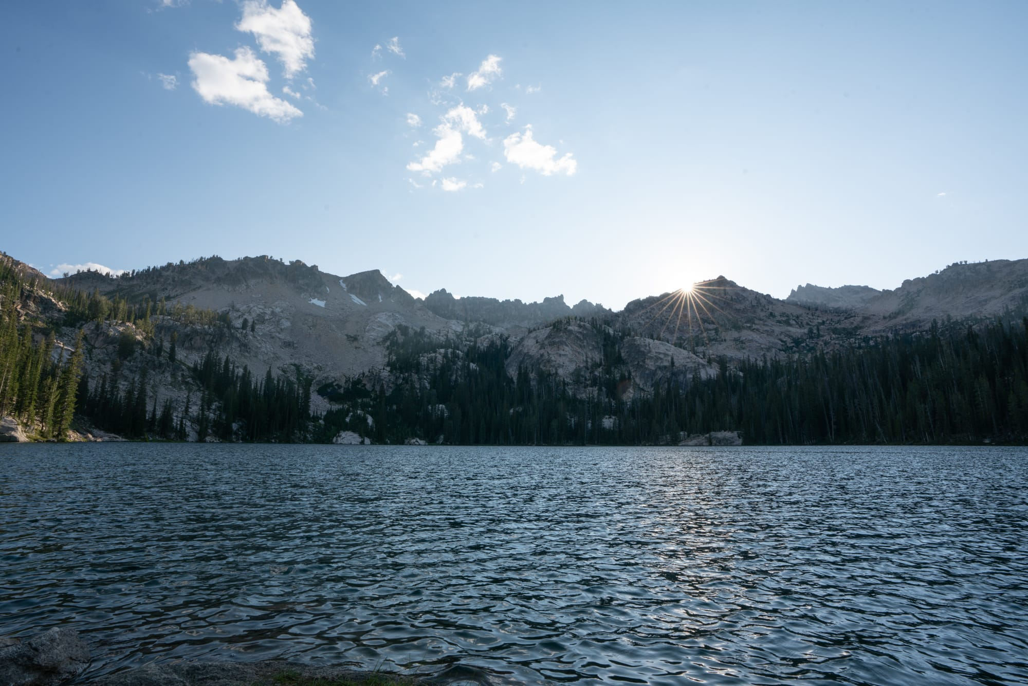 Baron Lakes is one of those iconic hikes in Idaho's Sawtooth Mountains with several high alpine lakes to choose from and wide open views of the jagged Sawtooth Range.  Get my trail and campsite tips with this detailed Baron Lakes backpacking guide.