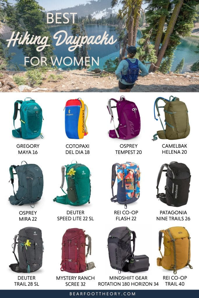 Check out the best hiking daypacks for women including our personal favorites and get tips for finding the right fit, capacity & technical features.
