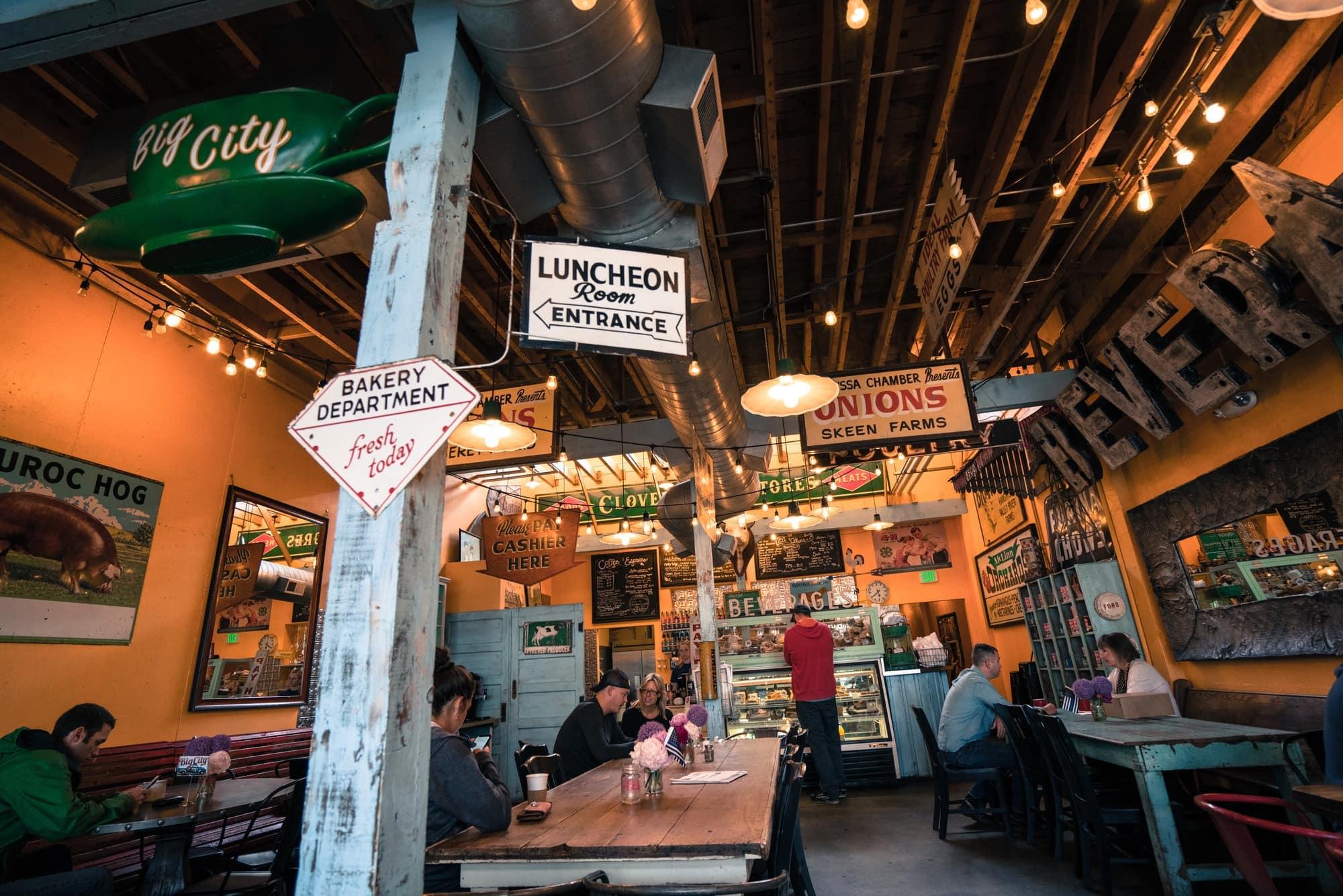Big City Cafe, Boise