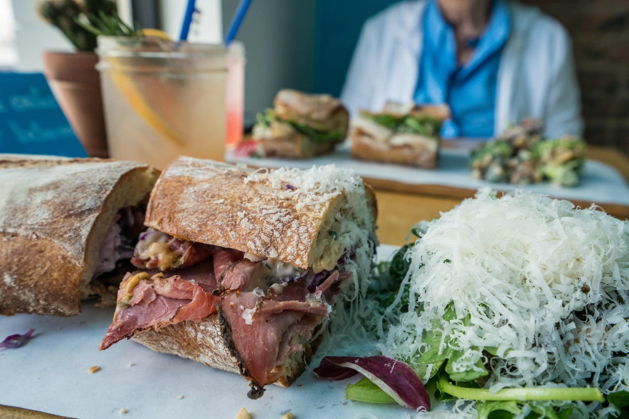 Bleubird Sandwich shop in boise