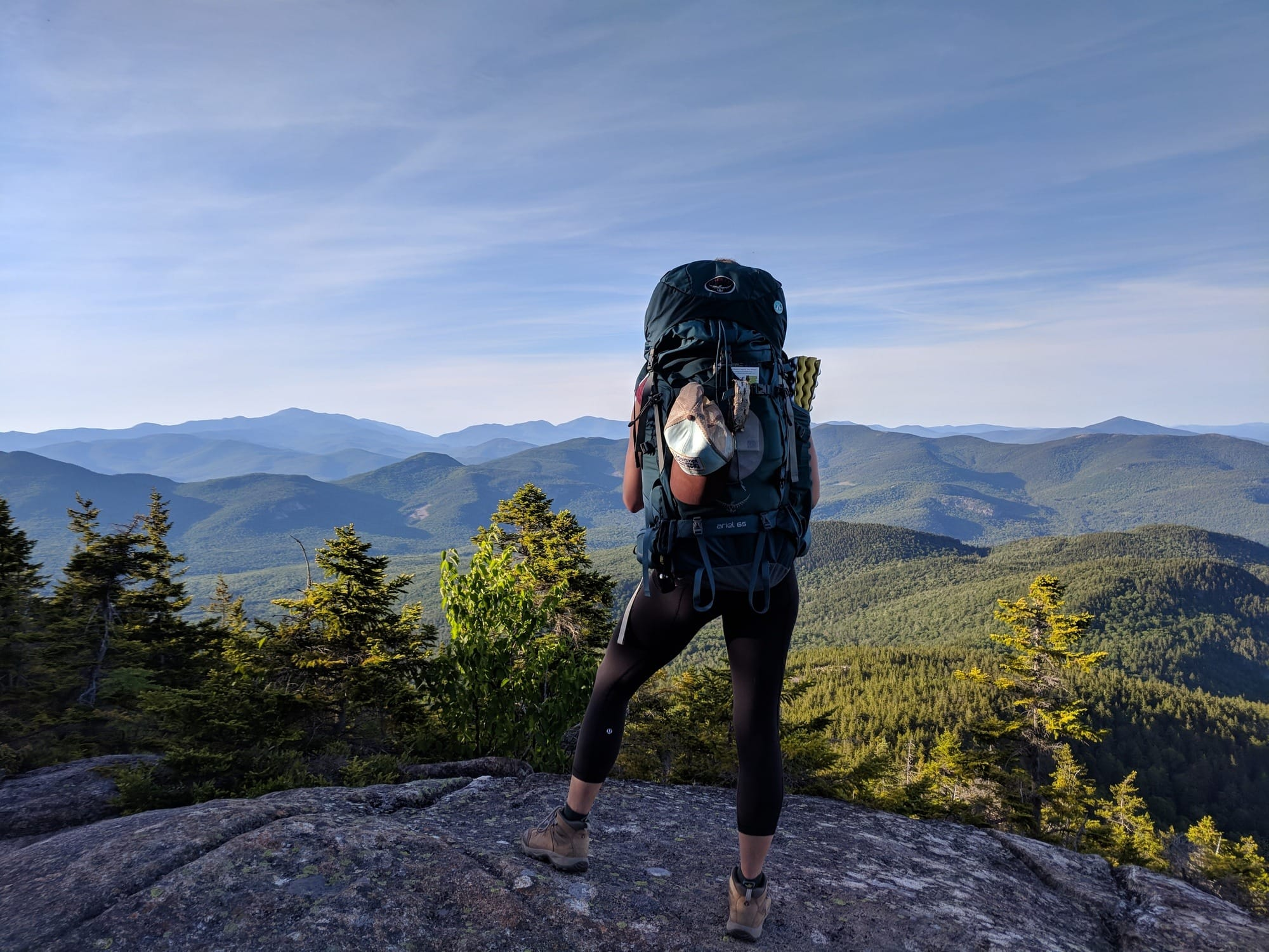 Backpacking Guide: Piper Trail and Carter Ledge Loop in New Hampshire