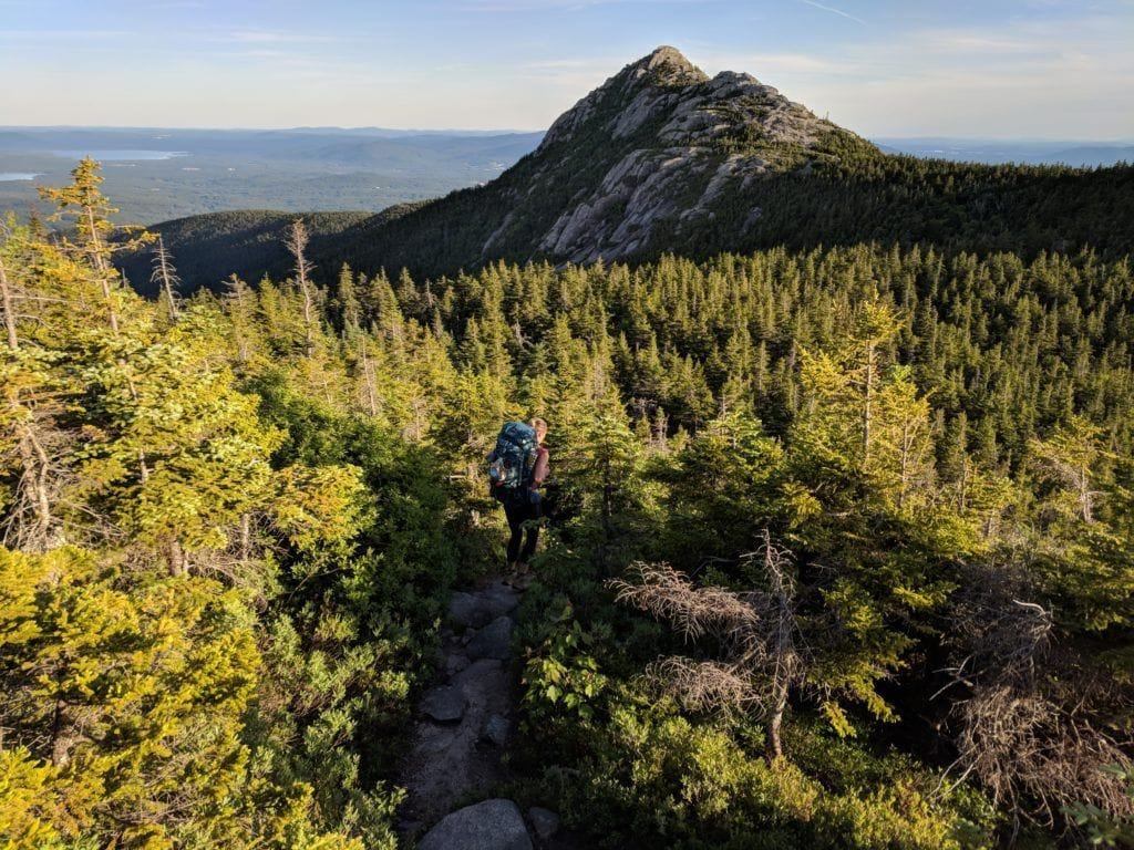 Piper Trail // Explore the best New Hampshire hikes to see fall foliage with our comprehensive hiking guide including directions and trail stats.