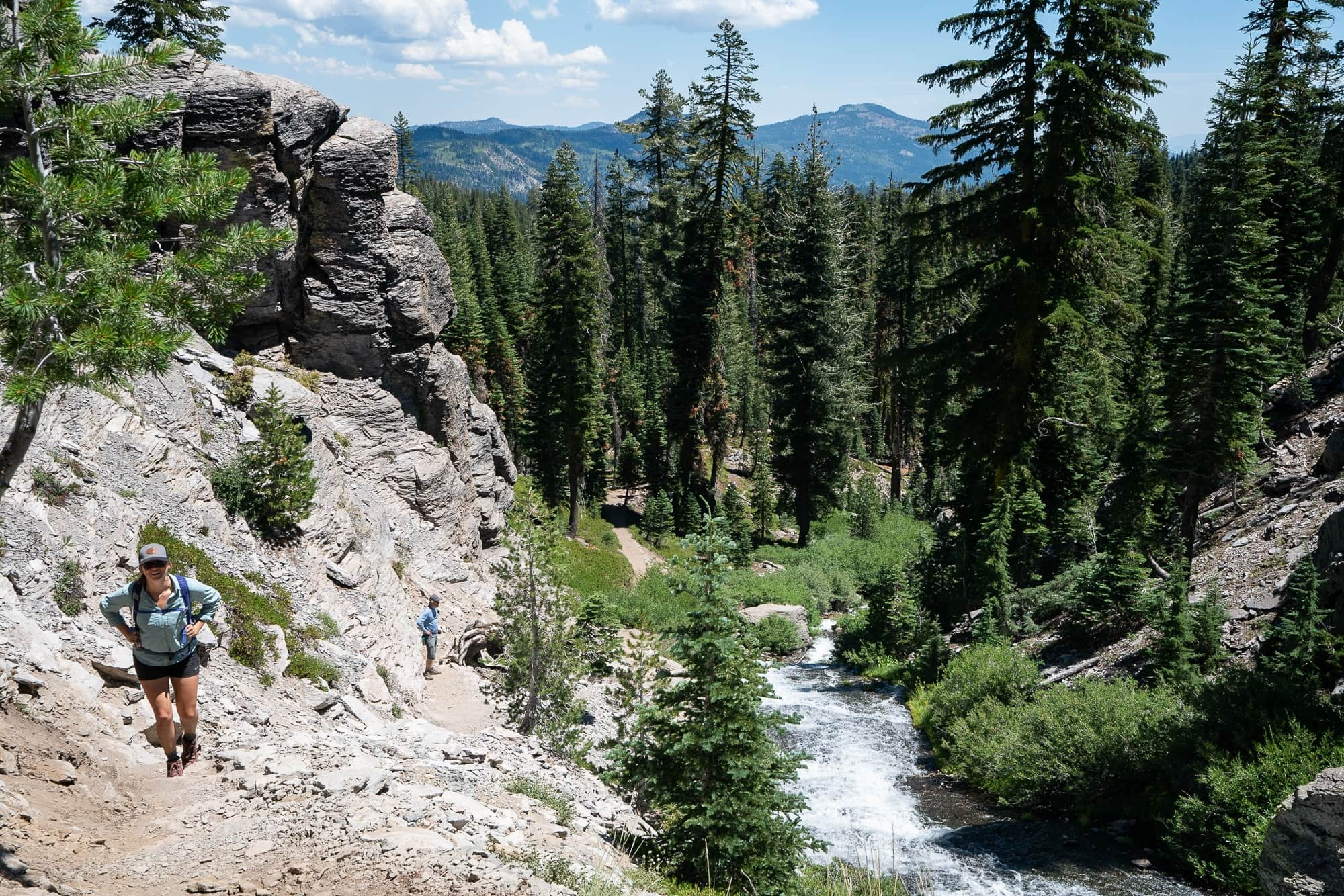 Kings Creek Falls // Plan your Lassen National Park hikes with our roundup of the best hikes, including boiling hot pots, alpine lakes, and big summits.