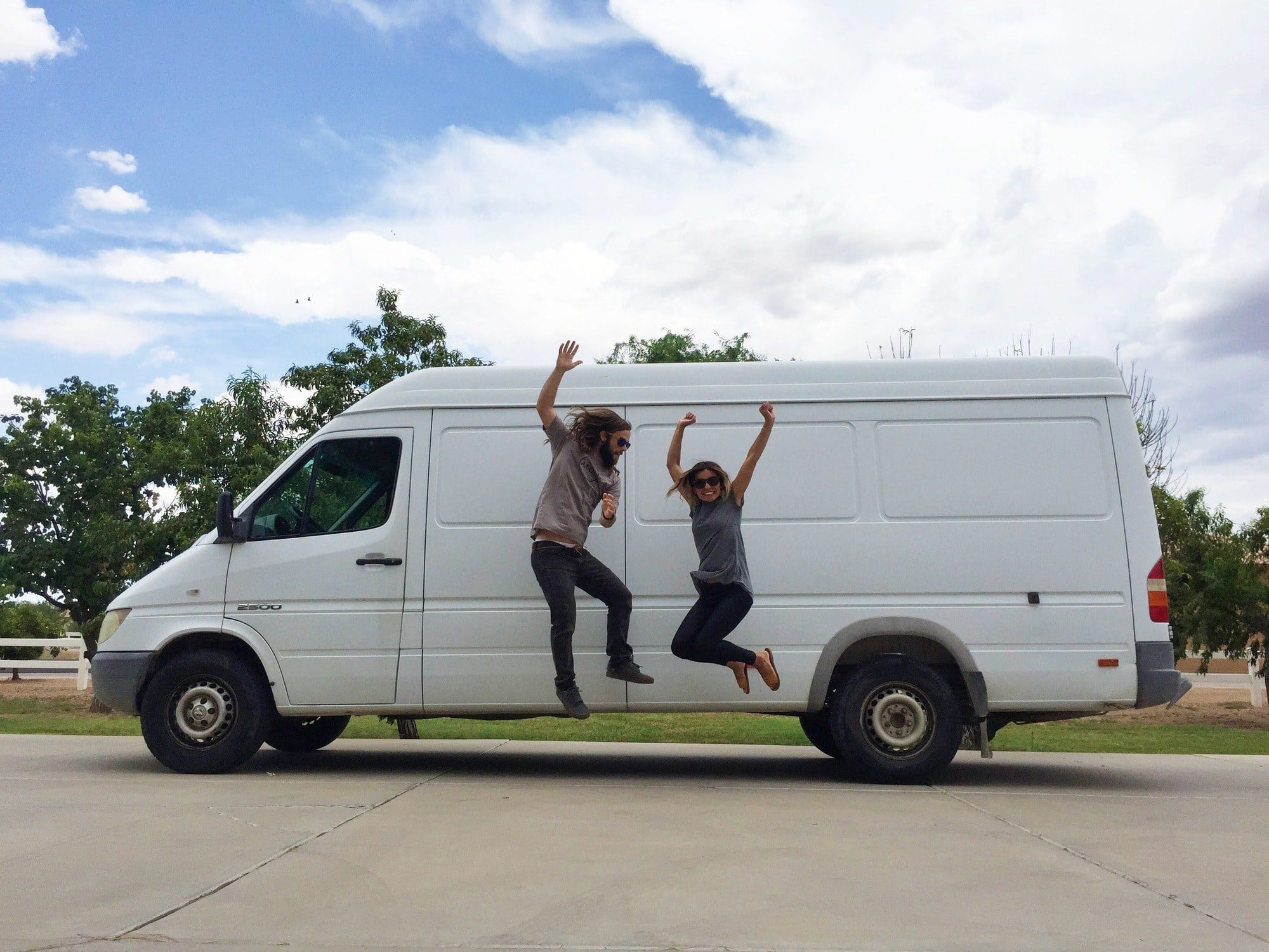 Learn about Sprinter Van Life with a baby, tips for a DIY Sprinter Van conversion & making money on in the road in this interview with Our Home On Wheels.